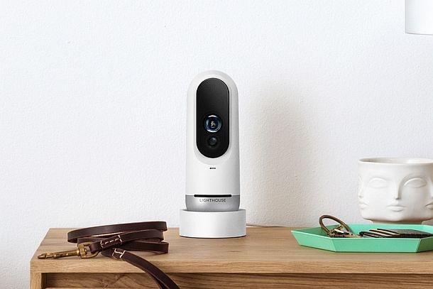 Камера наблюдения с искусственным интеллектом Lighthouse