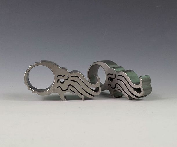 Кольца с открывалками в виде осьминога Ктулху