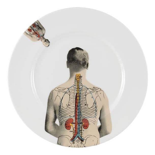 Кофейная чашка с блюдцем Anatomica