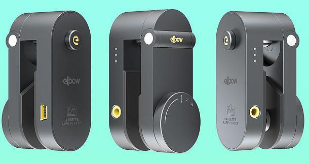 Мини-магнитофон для проигрывания пленочных кассет Elbow