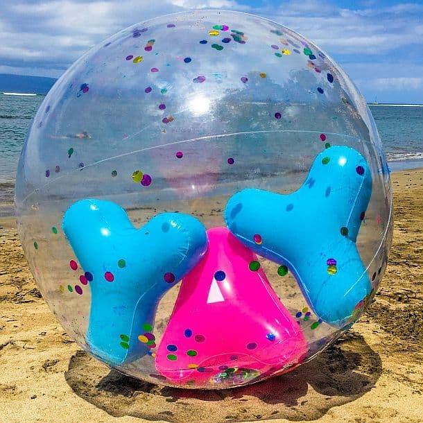 Огромный пляжный мяч YAY