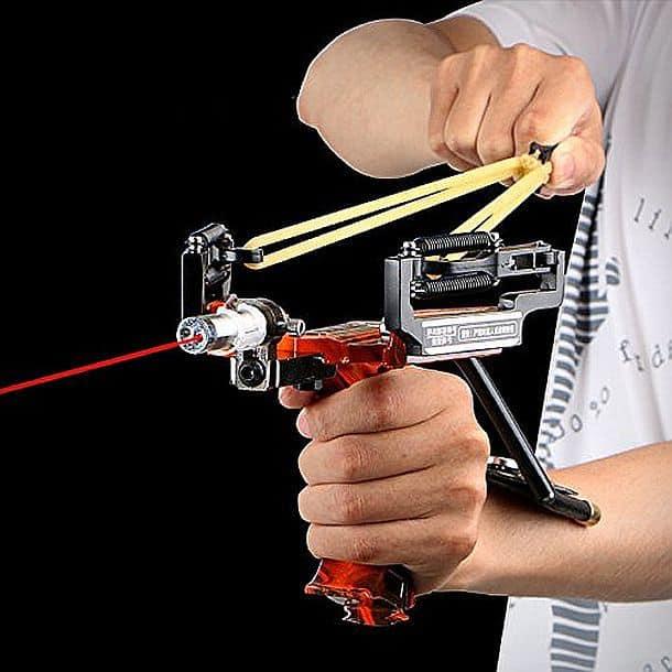 Рогатка с лазерным прицелом Assolar SS-12