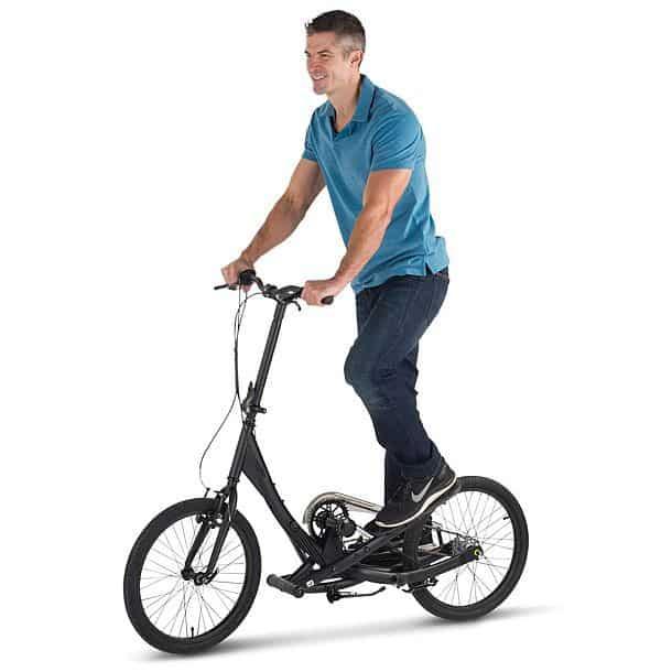 Складной шаговый велосипед Stepper Bike