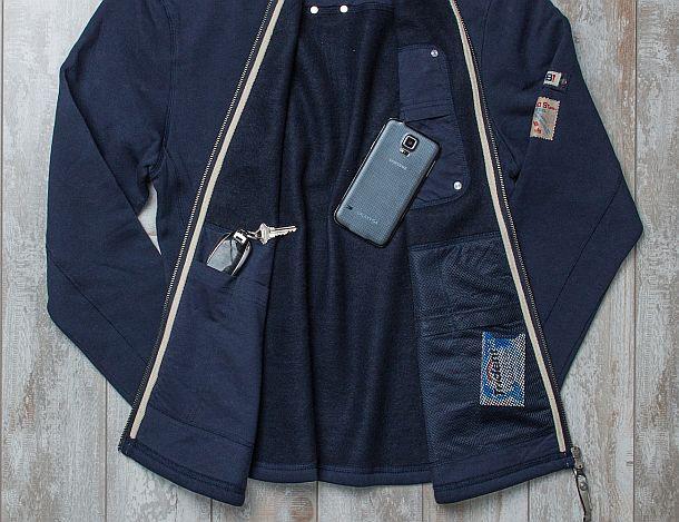 Толстовки с вместительными потайными карманами
