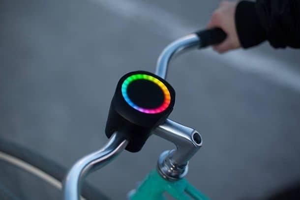 Умный многофункциональный велосипедный навигатор SmartHalo