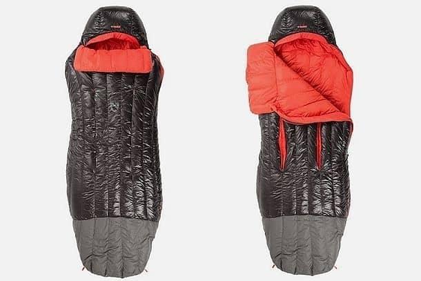 Усовершенствованный спальный мешок Nemo Riff