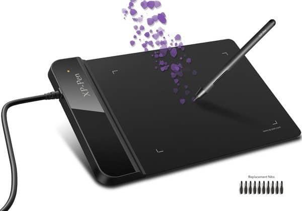 Компактный графический планшет XP-Pen