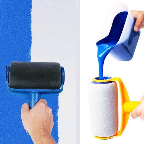 Малярный ролик с ёмкостью для краски Paint Runner