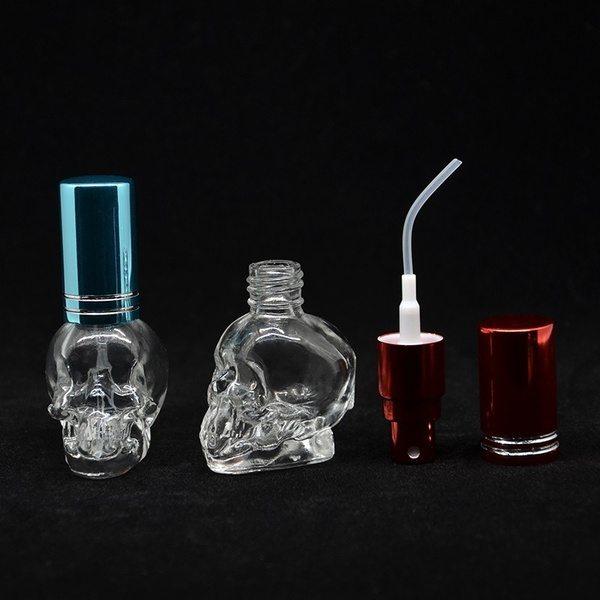 Пульверизатор для парфюма в виде черепа