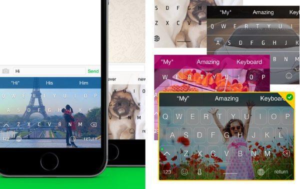 Wallpapers For Keyboard - клавиатура с фоновым рисунком для iPhone