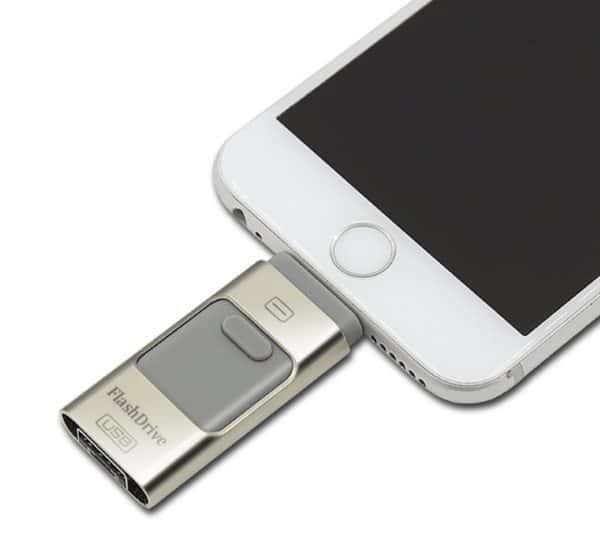 Универсальная флешка для мобильных и стационарных устройств