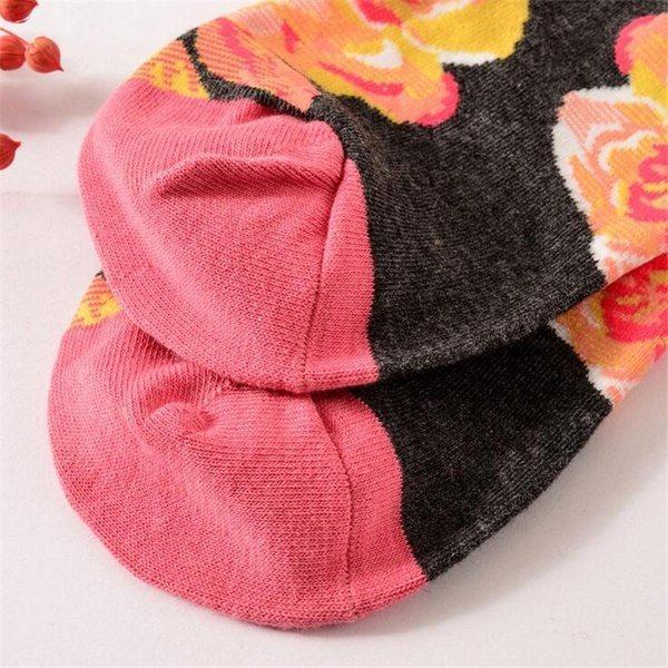 Тёплые женские носочки весёлых расцветок