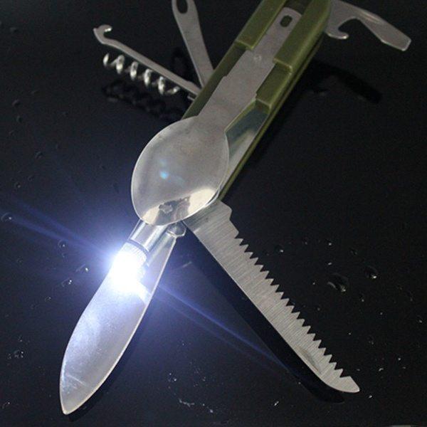 Универсальный складной туристический нож