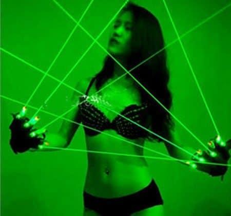 Лазерные перчатки для клубных вечеринок