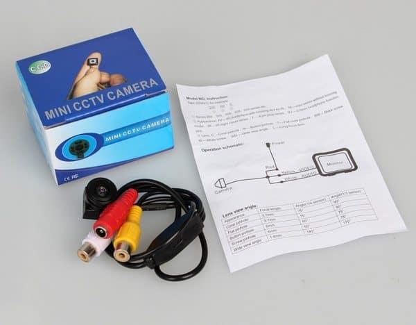 Миниатюрная камера для видеонаблюдения