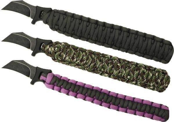 Браслет из паракорда со встроенным ножом Para-Claw