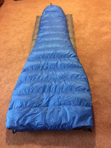 Ультралёгкий спальный мешок без молнии Vireo