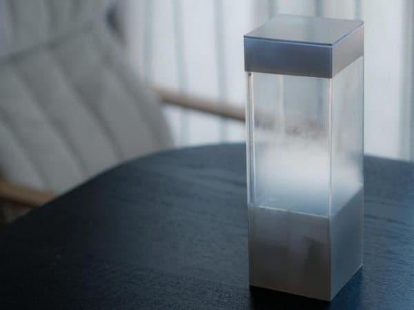 Объёмный визуализатор погоды Tempescope