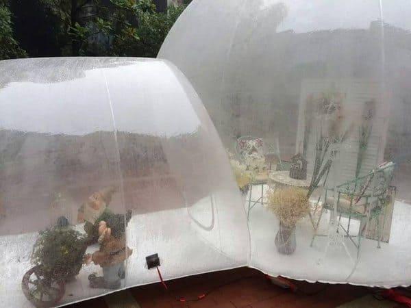 Надувное жилище-пузырь