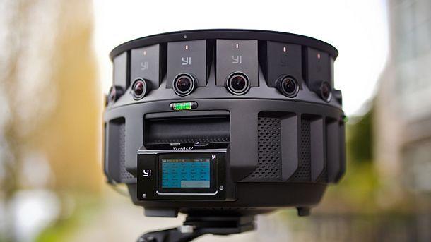 VR-камера следующего поколения – Yi Halo