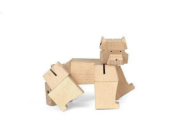 Деревянная головоломка SquareBear BlockBeast