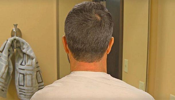 Лекало для самостоятельного сбривания волос на шее Barber's Edge