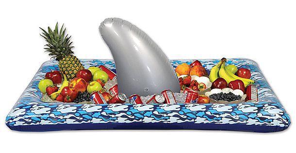 Надувной кулер с акульим плавником