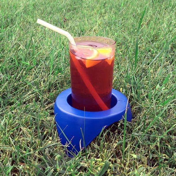 Пластиковые подставки под напитки для использования на природе Great Coaster