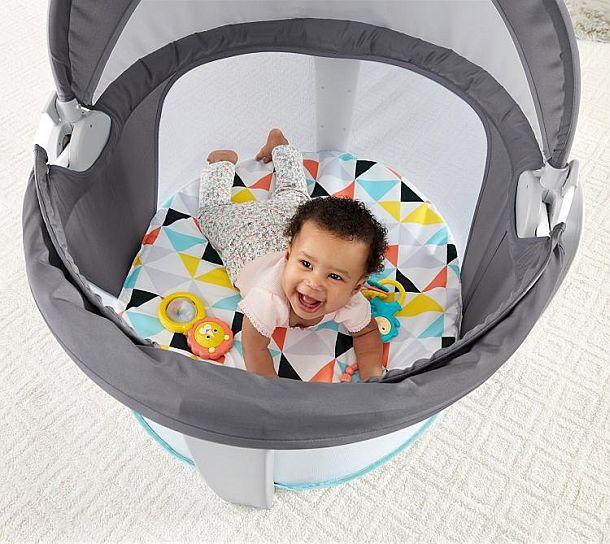 Складная мобильная колыбель для младенца On-The-Go Baby Dome