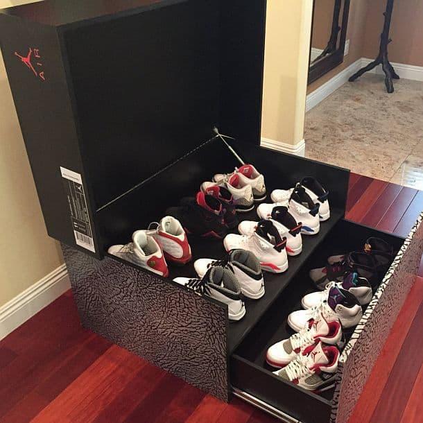 Шкаф для хранения обуви Jordan