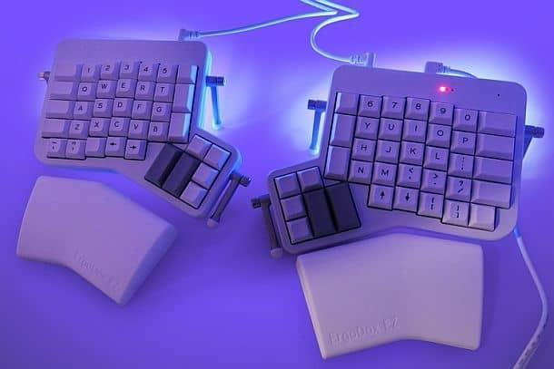 Эргономичная клавиатура ErgoDox EZ