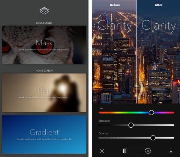Clarity — приложение для создания уникальных обоев рабочего стола