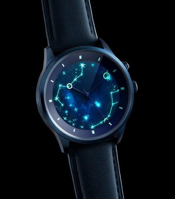 "Часы ""Звёздное небо"""