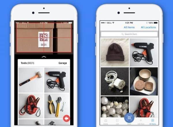 Quick Peek — приложение для умного хранения и поиска вещей
