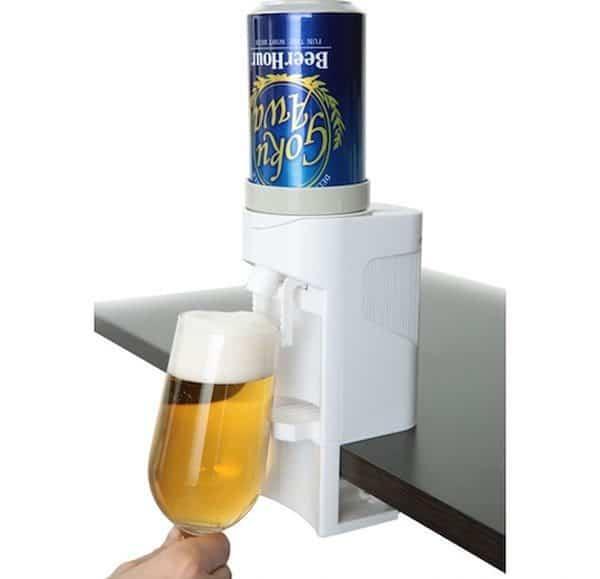 Ультразвуковой диспенсер для пива с функцией создания пенной шапки