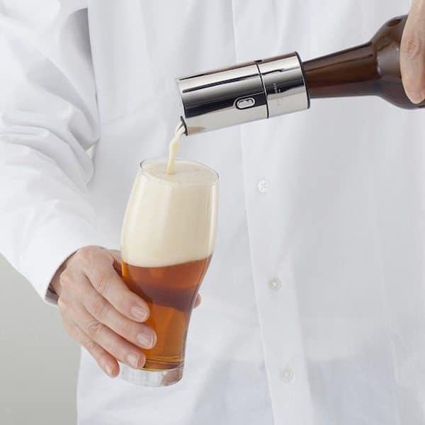 Ультразвуковой пенковзбиватель для пивных бутылок