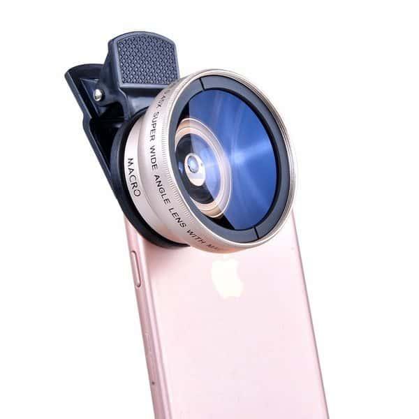 Двойной приставной объектив для смартфонов