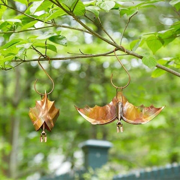 Украшение для сада в виде летучих мышей
