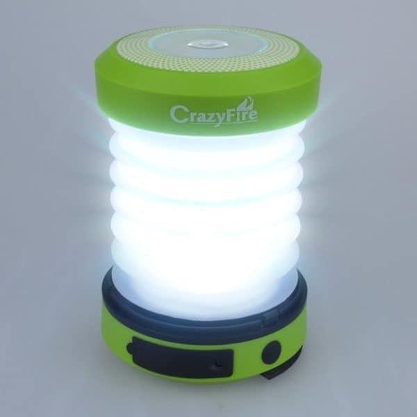 Складная кемпинговая лампа CrazyFire