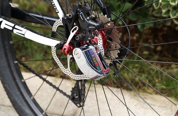 Велозамок со встроенной звуковой сигнализацией Inbike