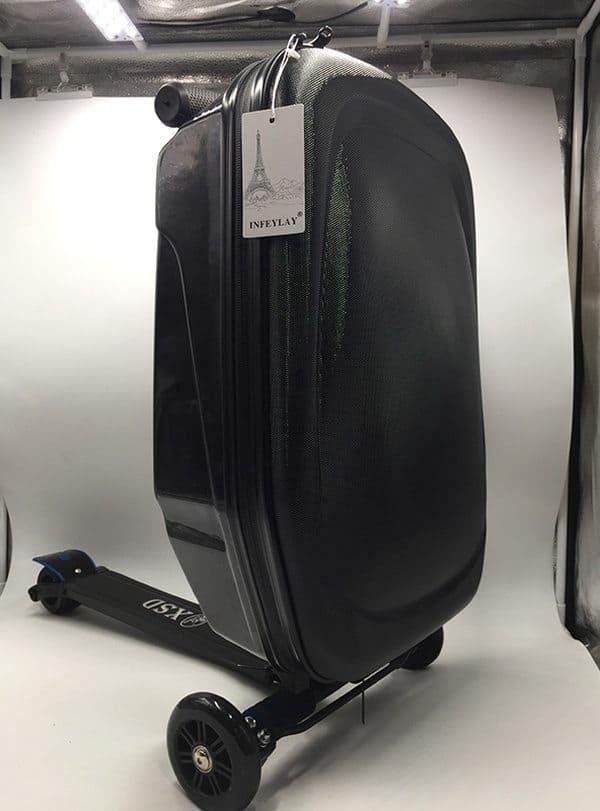 Дорожный чемодан в виде самоката Infeylay