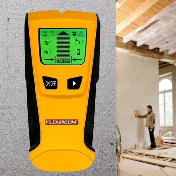 Сканер для обнаружения труб и проводки в стенах Floureon