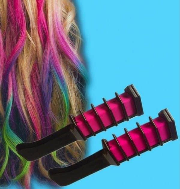 Расчёска для временного окрашивания волос