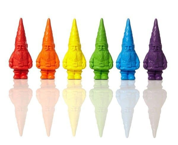 Набор цветных мелков в виде гномов