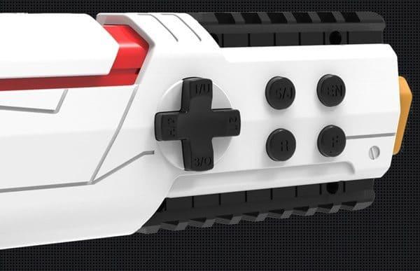 Bluetooth-геймпад в виде пистолета
