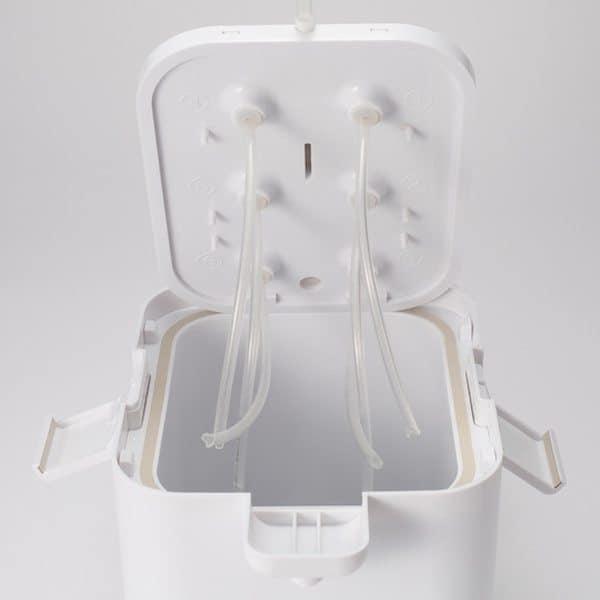 Переносной холодильник с функцией диспенсера
