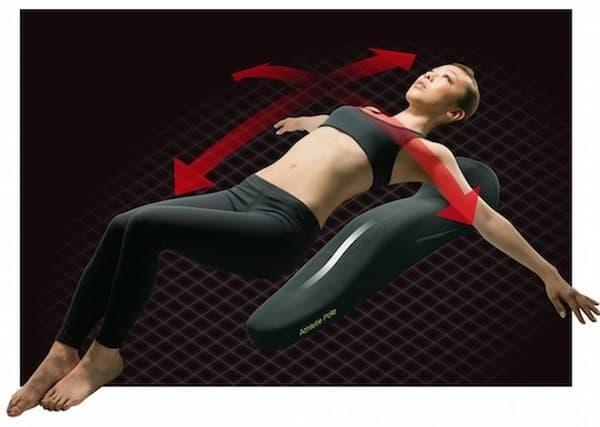 Спортивный мат анатомической формы MTG
