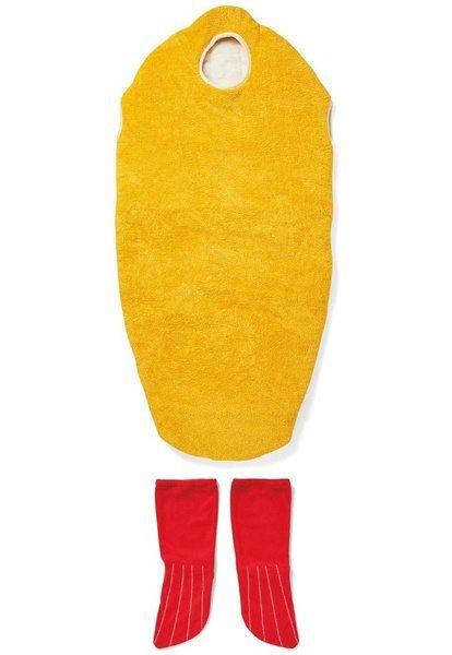 Спальный костюм в виде креветки