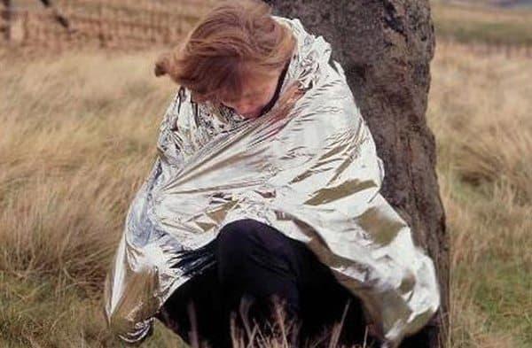 Одеяло из фольги