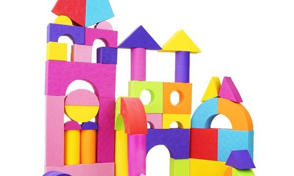 Строительный набор для юного архитектора